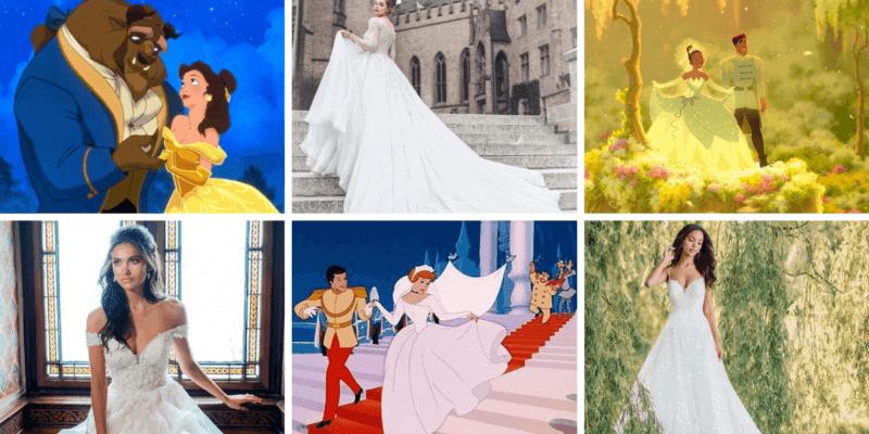 Real Life Disney Princess Wedding Dress