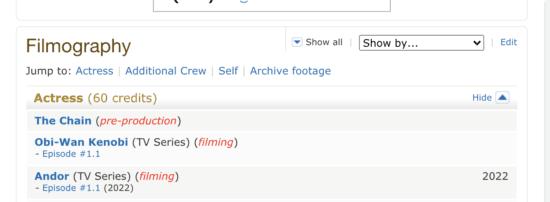 denise gough satine imdb
