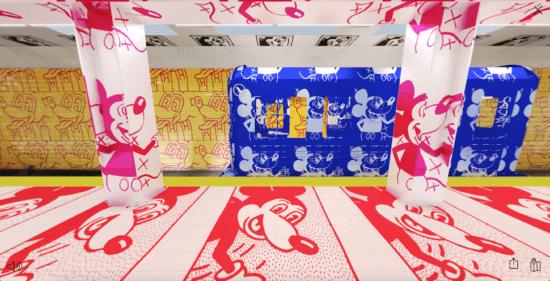 COACH x Keith Haring Subway