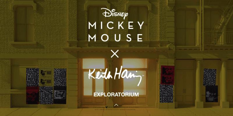 Disney x COACH x Keith Haring Exploratorium
