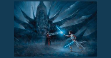 Thomas Kinkade Studios Rey's Awakening