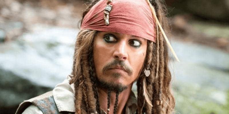 Johnny Depp in Pirates