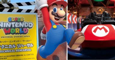 Mario Kart Soft Opening