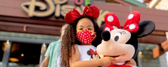 minnie mouse mask downtown disney