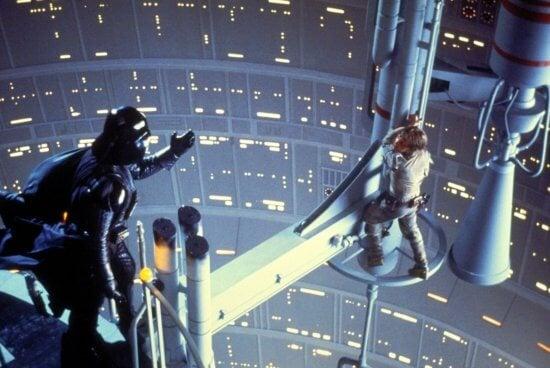 luke skywalker darth vader empire strikes back