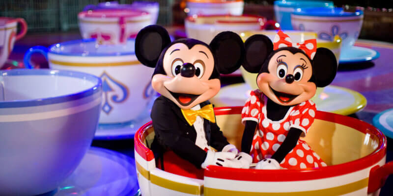 mickey and minnie teacups