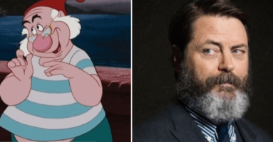 nick offerman offered role as smee in new peter pan film