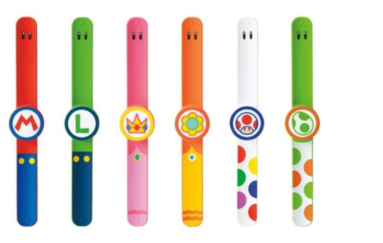 Super Nintendo World wristbands