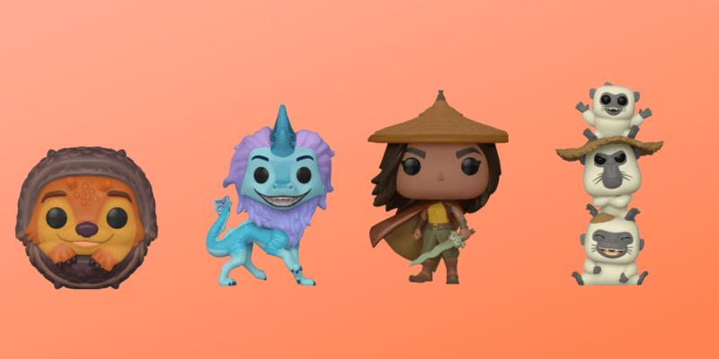Raya and the last Dragon Funko Pops