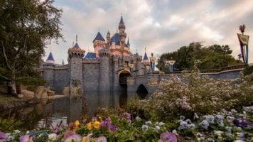 disneyland resort sleeping beauty castle
