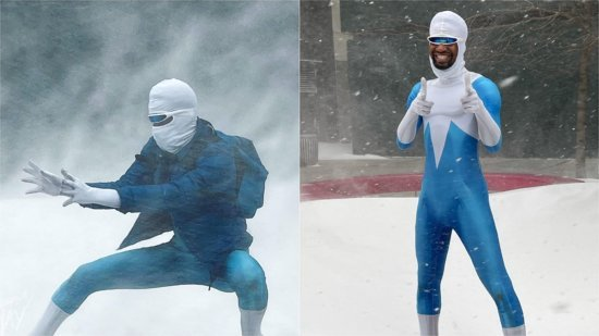 CosPlayNay as frozone