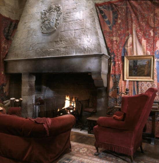 Harry Potter Hogwarts House Gryffindor Common Room