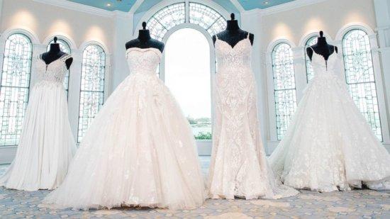Disney wedding dress preview line