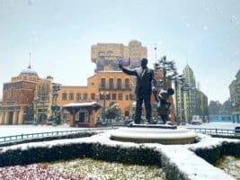 Disneyland Paris Snow