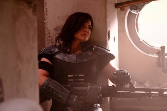 Gina Carano in The Mandalorian Season 1