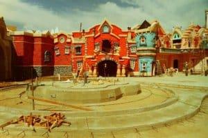 Roger Rabbit Toontown Disneyland Construction