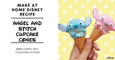 Stitch Cupcake Cones featured image