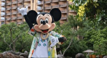 mickey mouse at aulani