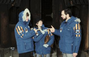 mark hamill, carrie fisher empire strikes back jackets