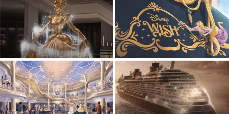 disney wish ship collage