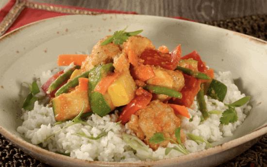 Curried Vegetable Crew Stew