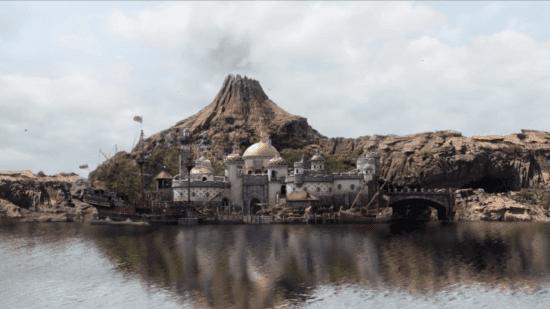 Disney SEA Fan show setting