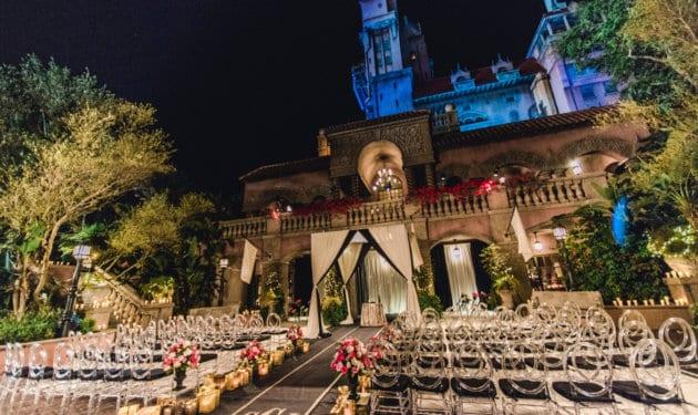 Tower of Terror wedding venue 1