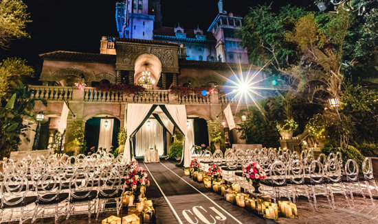 Tower of Terror wedding venue 2