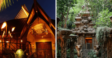 Trader Sam's and Indiana Jones Projection Mapping