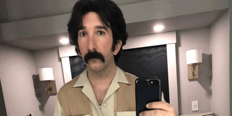 "Actor David Lengel on set of ""WandaVision"""