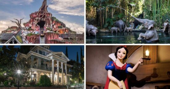 disney parks attractions