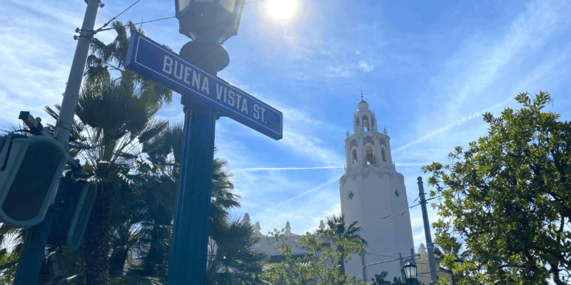 buena vista street disney california adventure