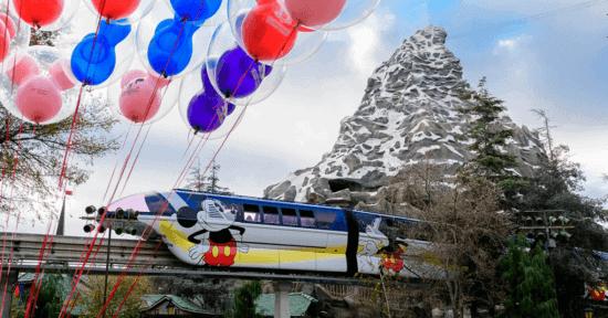 matterhorn and monorail disneyland