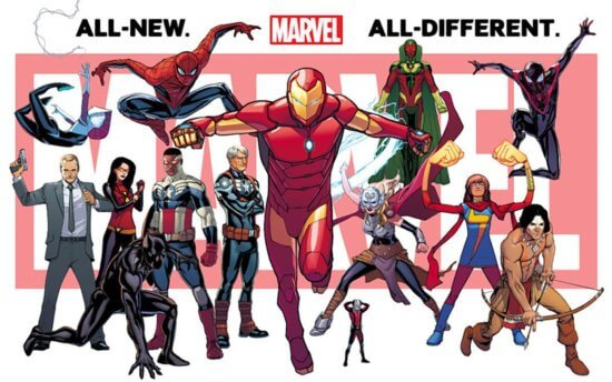 all new marvel