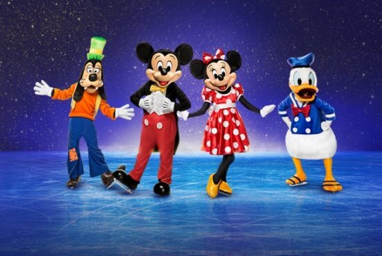 disney on ice mickey and friends