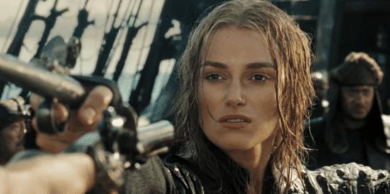 elizabeth swann in pirates of the caribbean