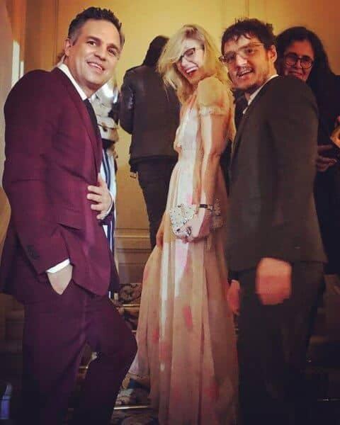 mark ruffalo pedro pascal at valentino show paris fashion week