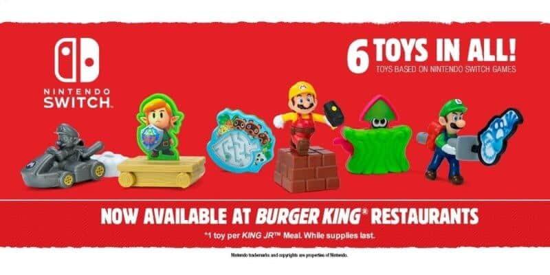 burger king Nintendo toys