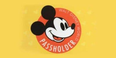 annual passholder Walt disney world resort