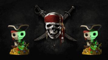 Pirates of the Caribbean skeleton Funko POP