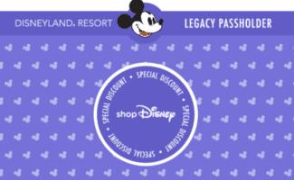shopdisney legacy passholders discount