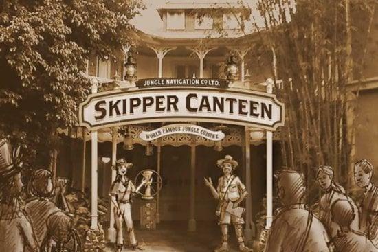 Skipper Canteen Rendering concept art