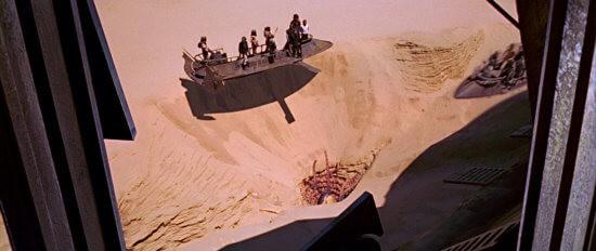 star wars return of the jedi sarlacc pit