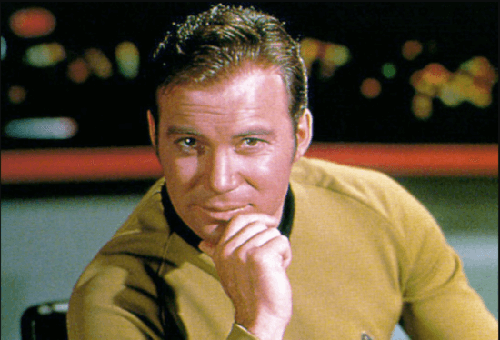 william shatner captain kirk