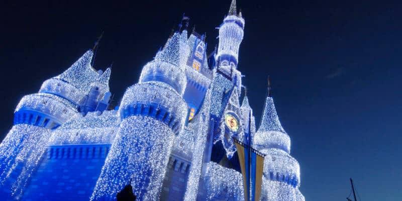 cinderella castle lights