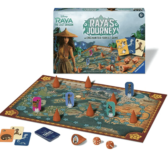 Raya's Journey: An Enchanted Forest Board Game