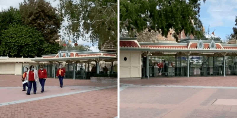 Cast Members at Disneyland