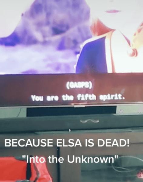 Elsa is the fifth spirit