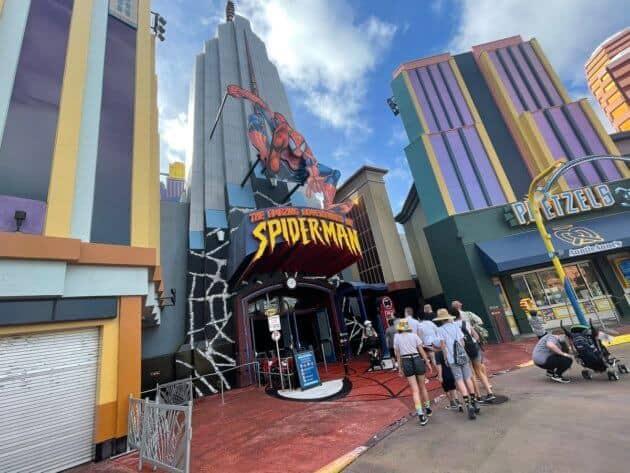 Universal Unveils The Amazing Adventures of Spider-Man Update