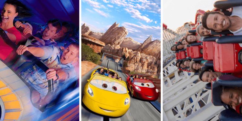 Fastest Rides at Disneyland
